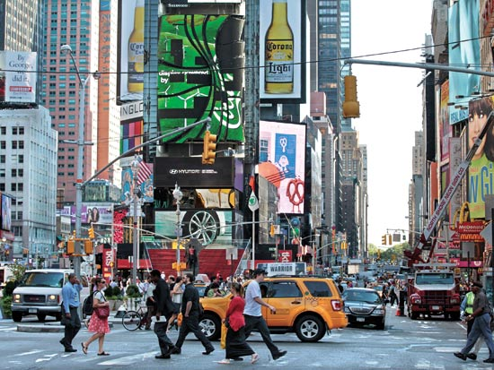 טיימס סקוור ניו יורק, ארהב / צלם: רויטרס